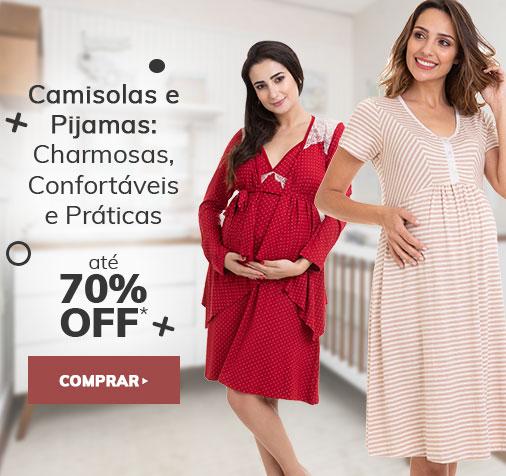 Camisolas e Pijamas em Promoção